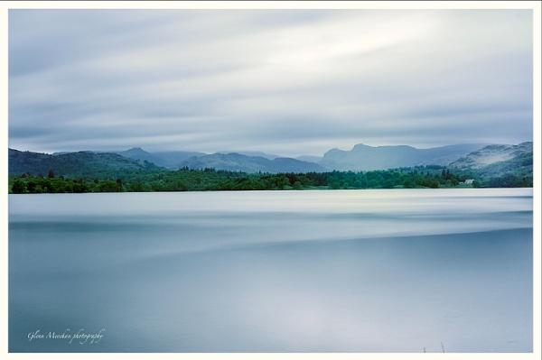 Mountains across the lake by Glenn1487
