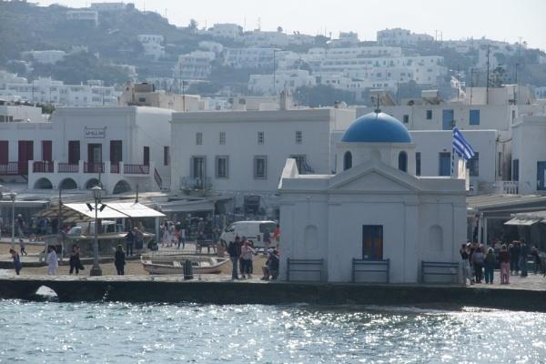 Mykonos waterfront #2. by MentorRon
