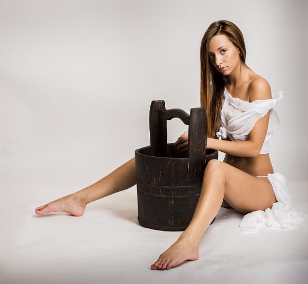 The milk maid by Bogwoppett