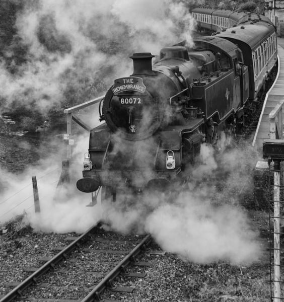 THE REMEMBRANCE TRAIN by cymru2019