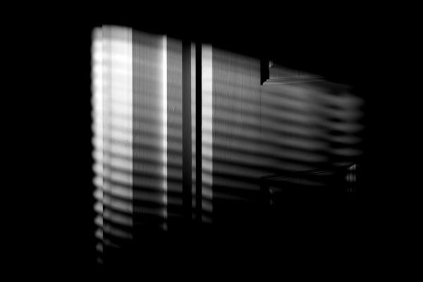 Shadow on the open door by helenlinda