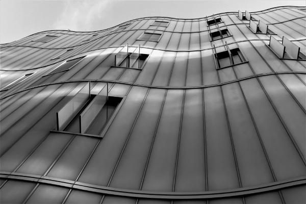 striped windows by HoneyT