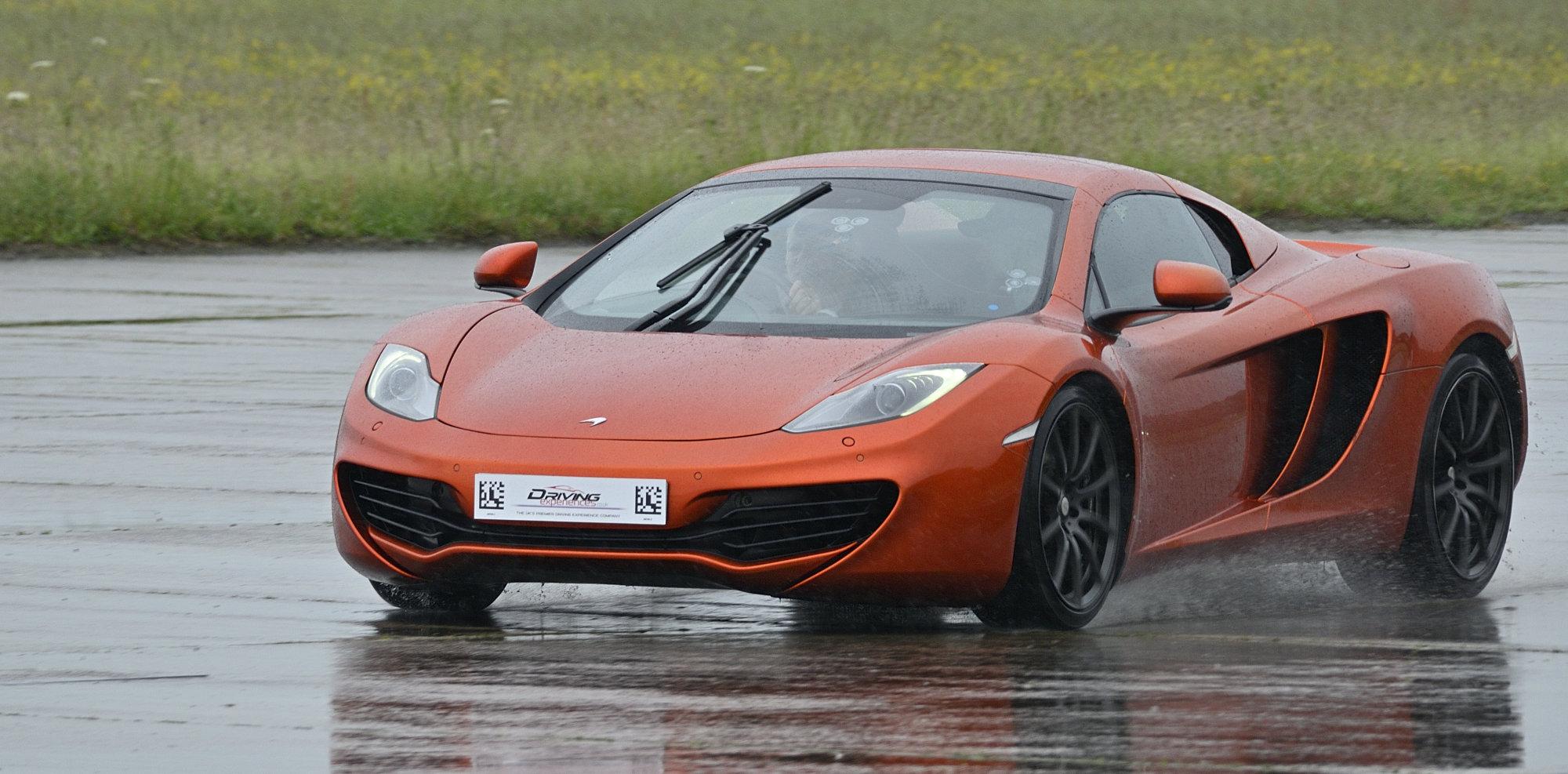 McLaren on a summer's day