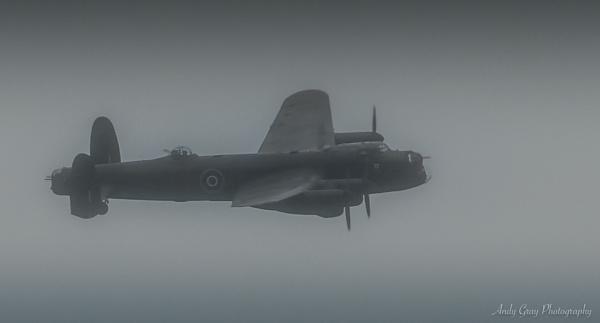 Lancaster Flypast by Legend147