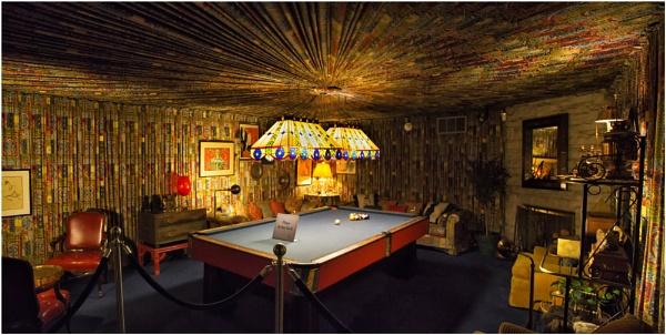 Pool Room, Gracelands by Owdman