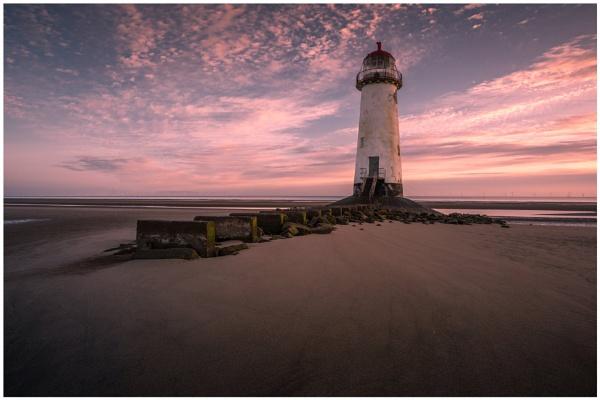 Point of Ayr Lighthouse 2. by Satlight