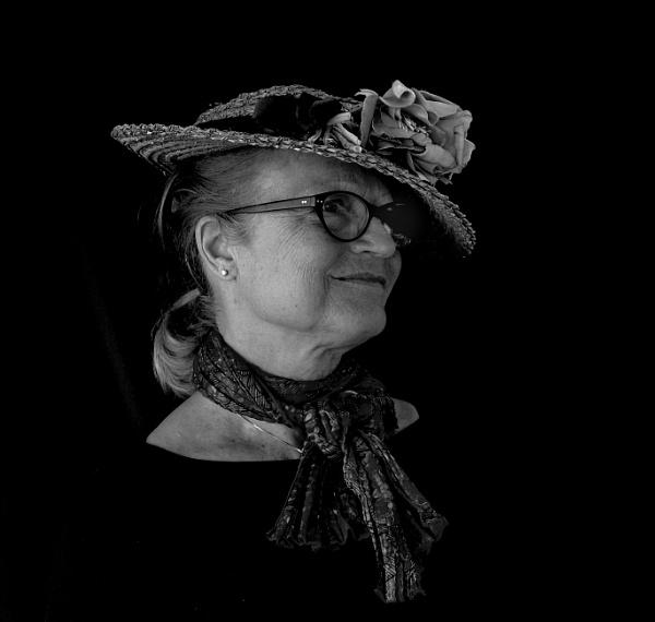 Lady in a Straw Hat by Aveeno