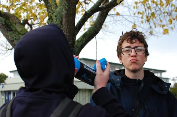 The Glasses Boy by heyitshenry