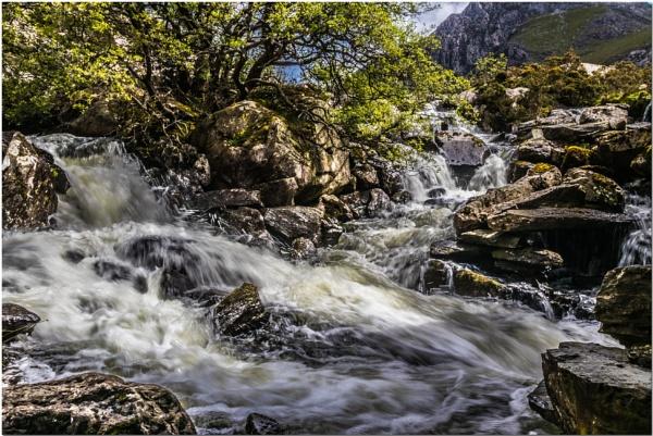 Ogwen Falls by Norma