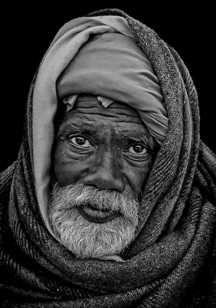 Pilgrim in Haridwar
