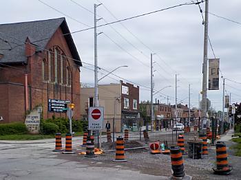 CONSTRUCTION  on LOCKE STREET # 1