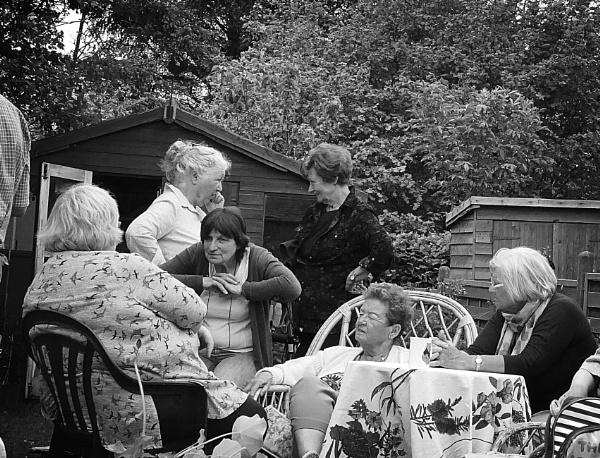 Village gossip by HobbitDave