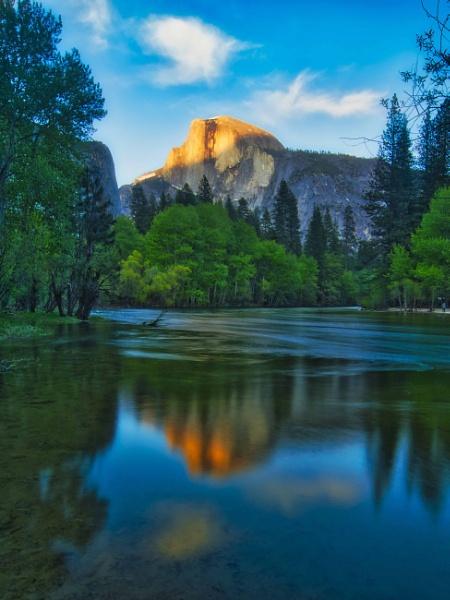 Half Dome in Yosemite by john_w168