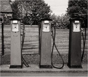 Old Petrol Pumps