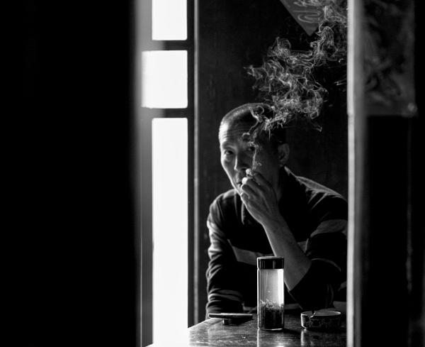 Cigarette and Tea by erino