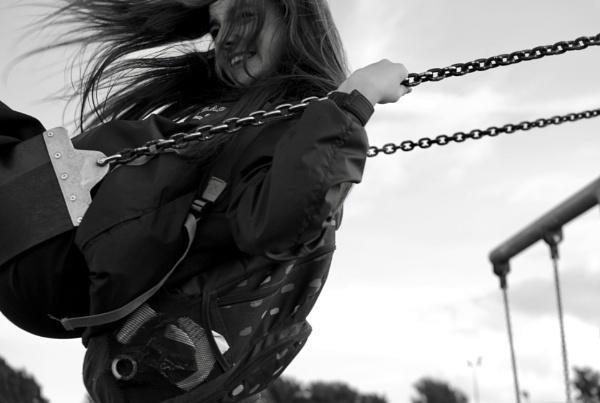 Girl on the Swing by heyitshenry