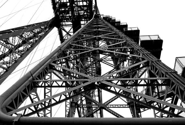 Tees Transporter Bridge by oldgreyheron