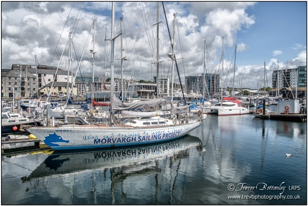 Around Sutton Harbour by TrevBatWCC