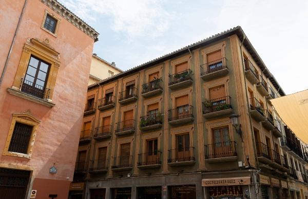 Street In Granada by AJG
