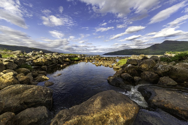 River outlet Lochbuie by esoxlucius