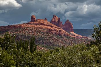 Mountains at Sedona Arizona
