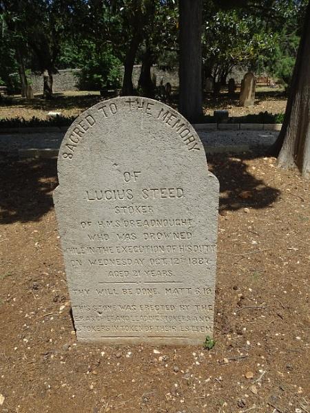 Lucius Steed (Stocker) H. M. S. Dreadnought, British Cemetery, Argostoli, Kefalonia, Greece by YoungGrandad