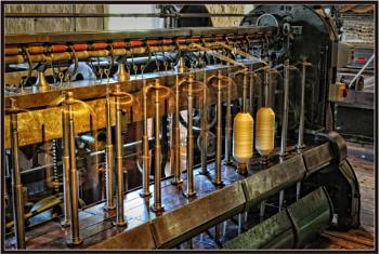 Quarry Bank Mill........... The machinery