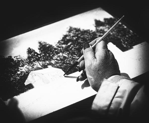 The artist by saltireblue
