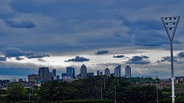 London City Skies by AgeingDJ