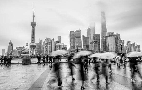 Shanghai Rain by erino