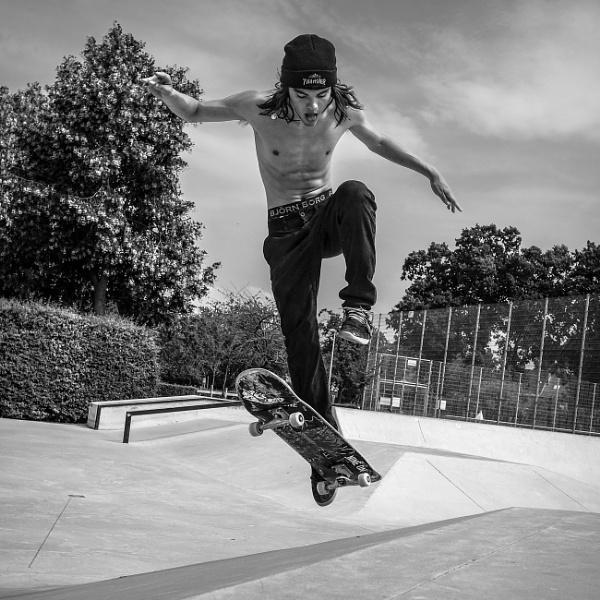 No more skateboarding for us by Drummerdelight