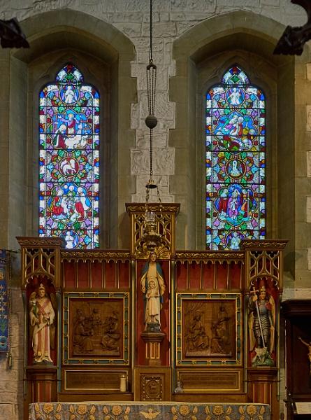 St Swithun\'s Church Windows by JJGEE