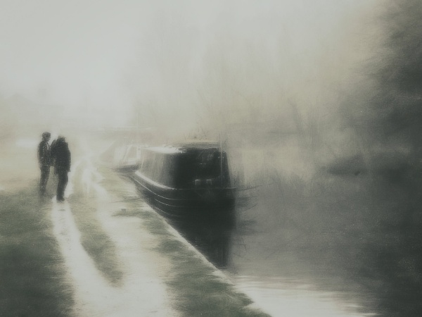 Chatting on the Canal Side by BillEiffert