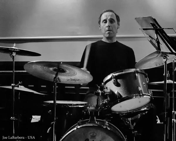 Master Drummer  Joe LaBarbera by barryyoungnz