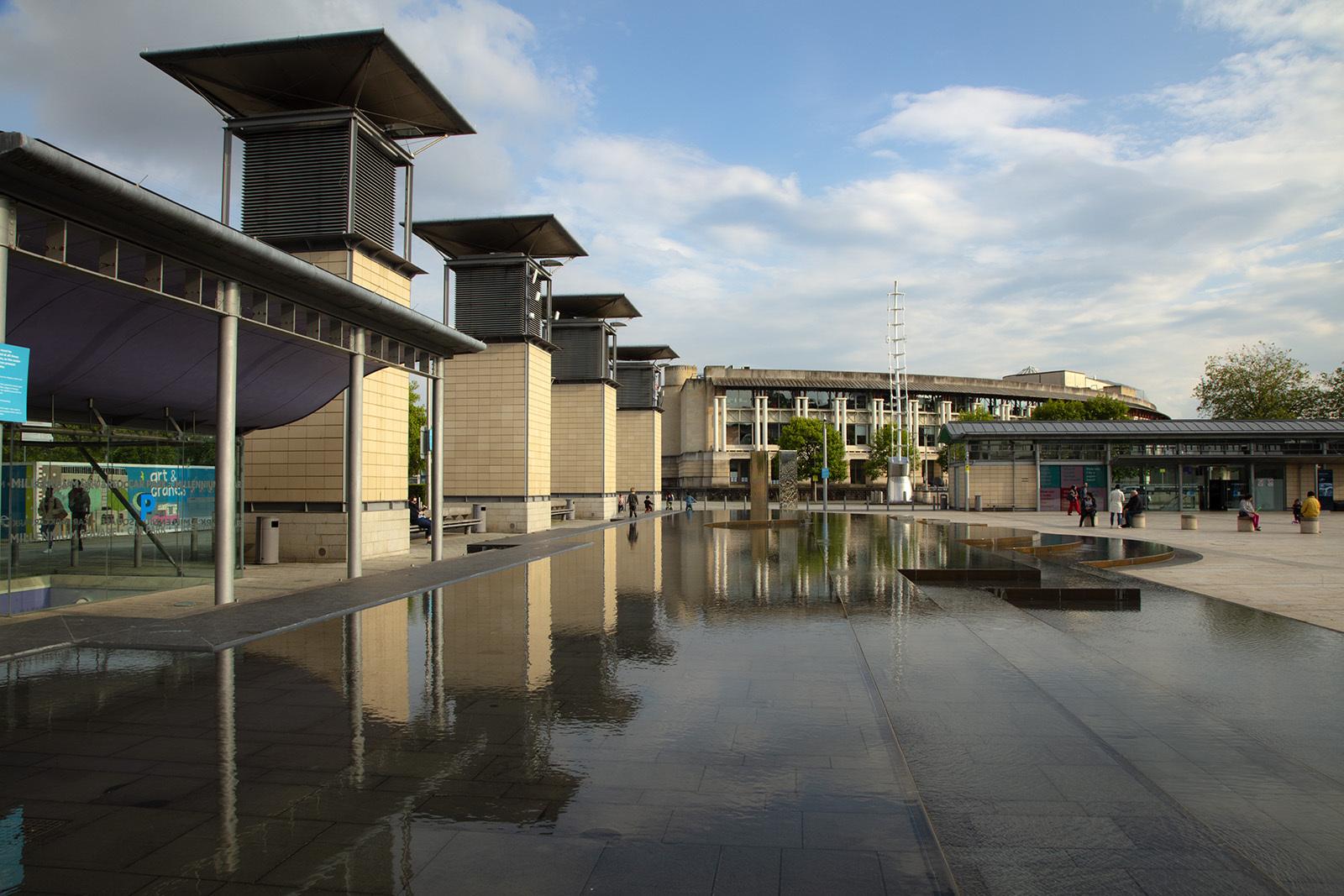 Millennium Square Bristol UK
