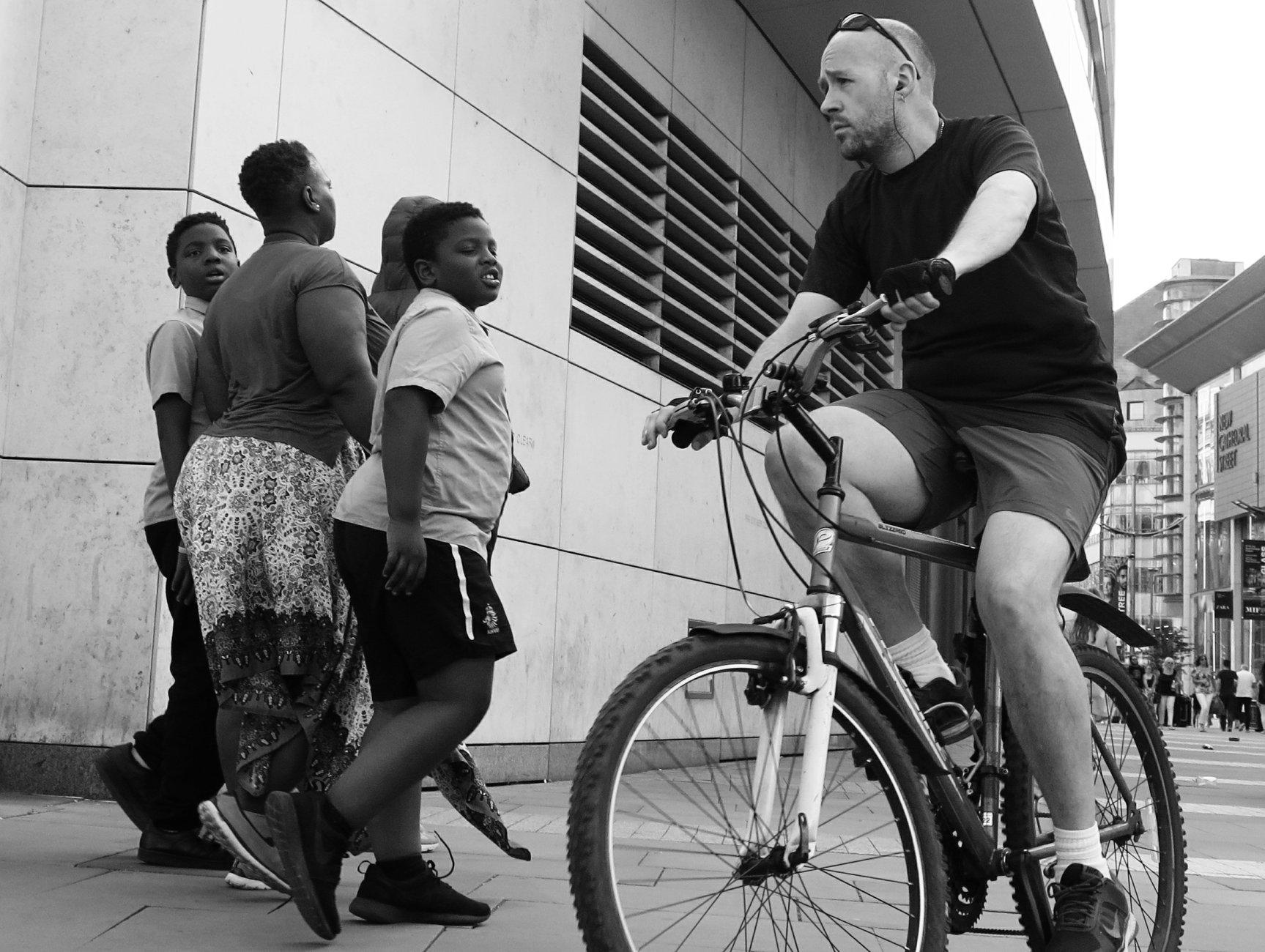 Street cyclist