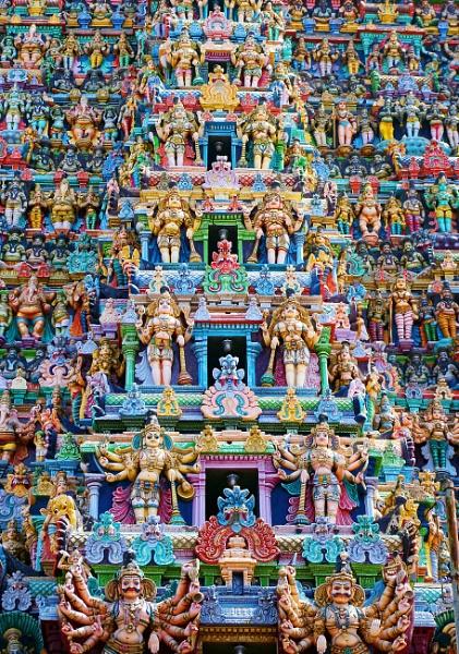 Shri Meenakshi Amman Temple in Madurai by sawsengee