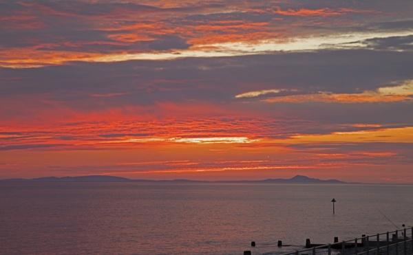 Tywyn Sunset by J_Caswell
