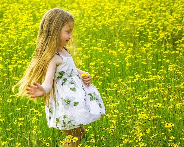 Picking wildflowers by jbsaladino