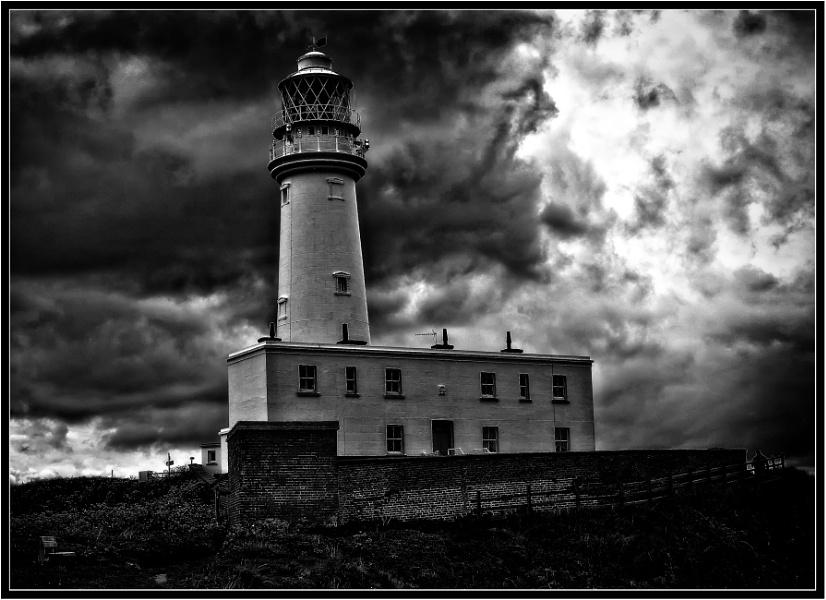 Storm over Flamborough Lighthouse (2)