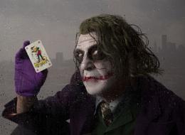 the joker at the window