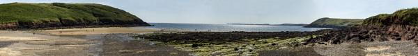 Manorbier Beach by Irishkate