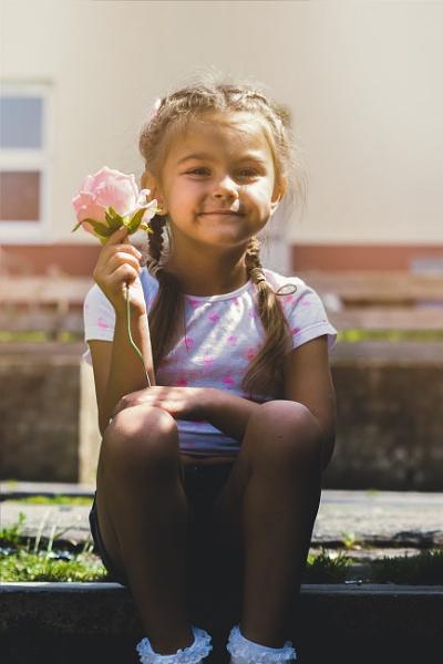 Rose Smiles by KatieMarie21