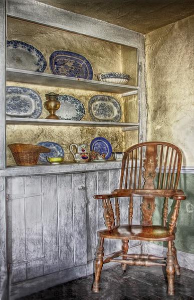 Grandma\'s chair by ivalyn