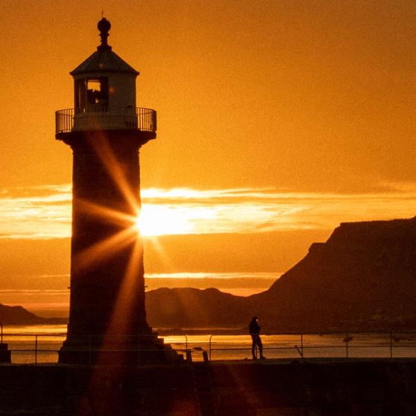 Whitby sunrise by audi_db