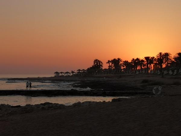 Paphos Sunset by Silverzone