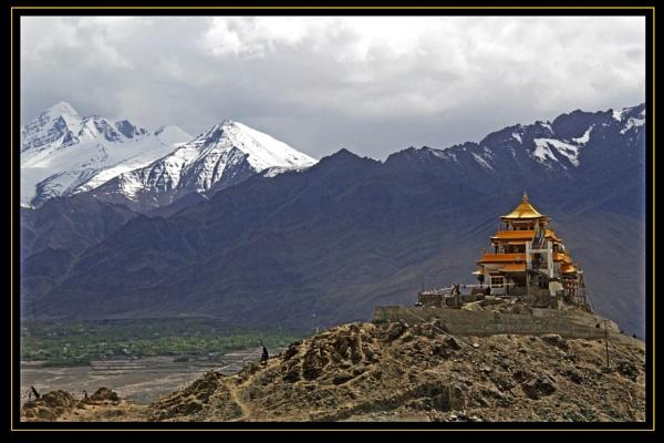 A New Monastery by prabhusinha