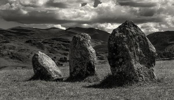 Castlerigg Stones by scrimmy