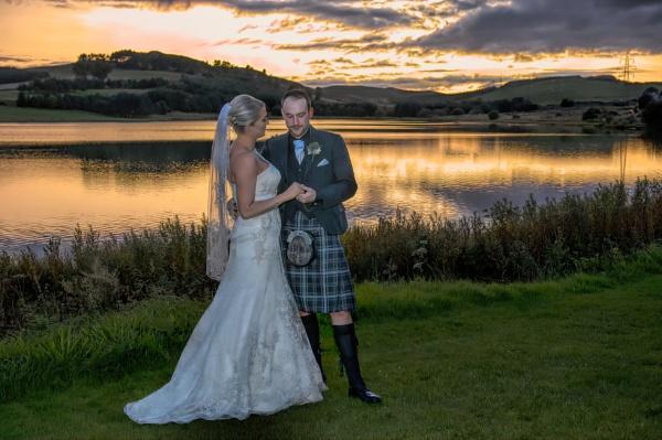 Wedding Sunset by scrimmy