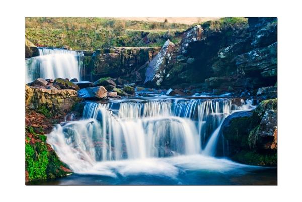 Waterfalls Afon Taff Fawr 6 by colym